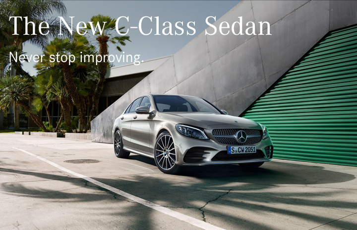 The New C-Class Sedan